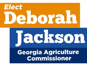 Deborah Jackson for Commissioner of Agriculture